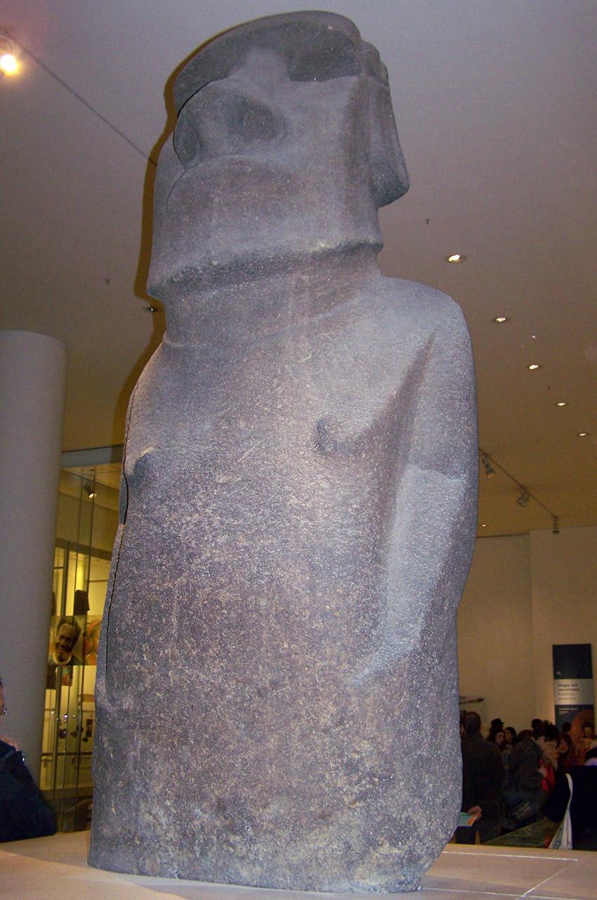 Moai de l'île de Pâques