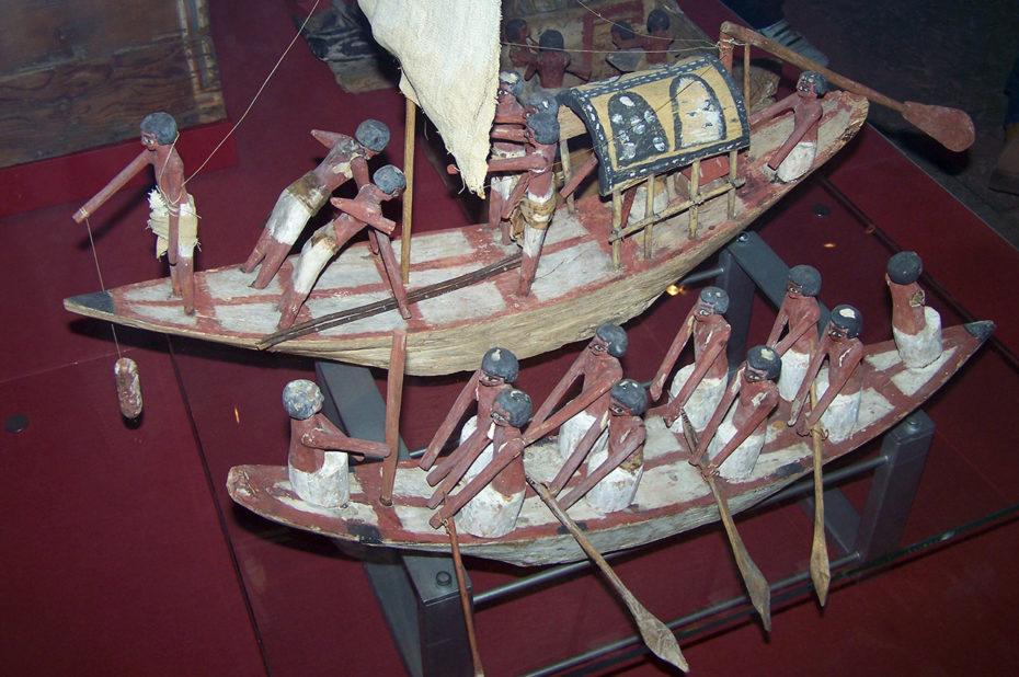 Modèles de voiliers en bois - origine Égypte