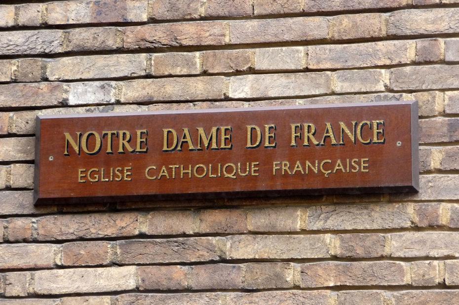 Notre-Dame de France, seule église catholique francophone d'Angleterre