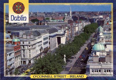 O'Connell Street, en plein cœur de Dublin