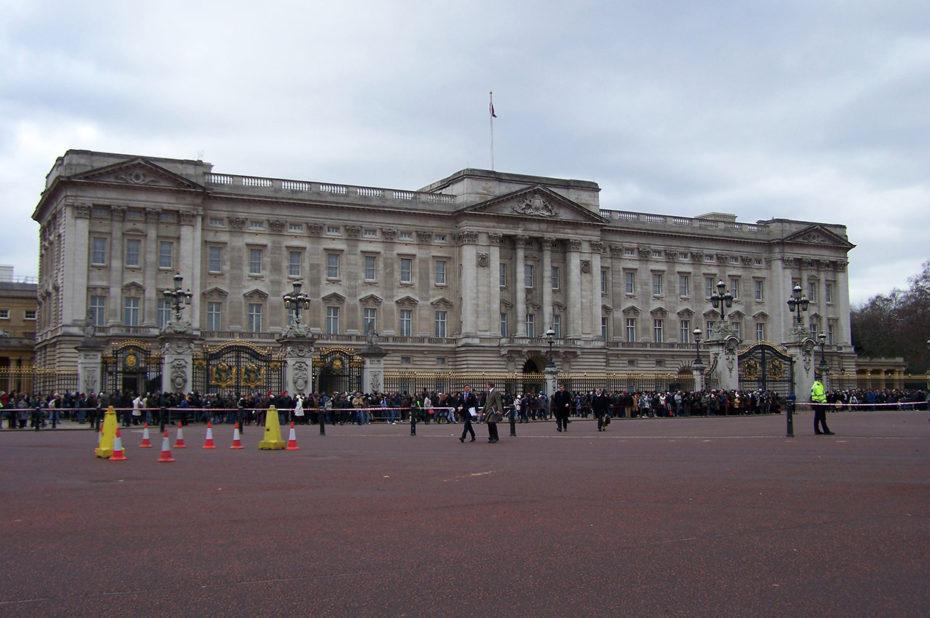 Le Palais de Buckingham à Londres