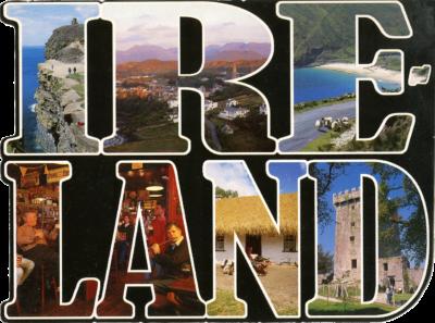 Paysages dans les lettres d'Irlande
