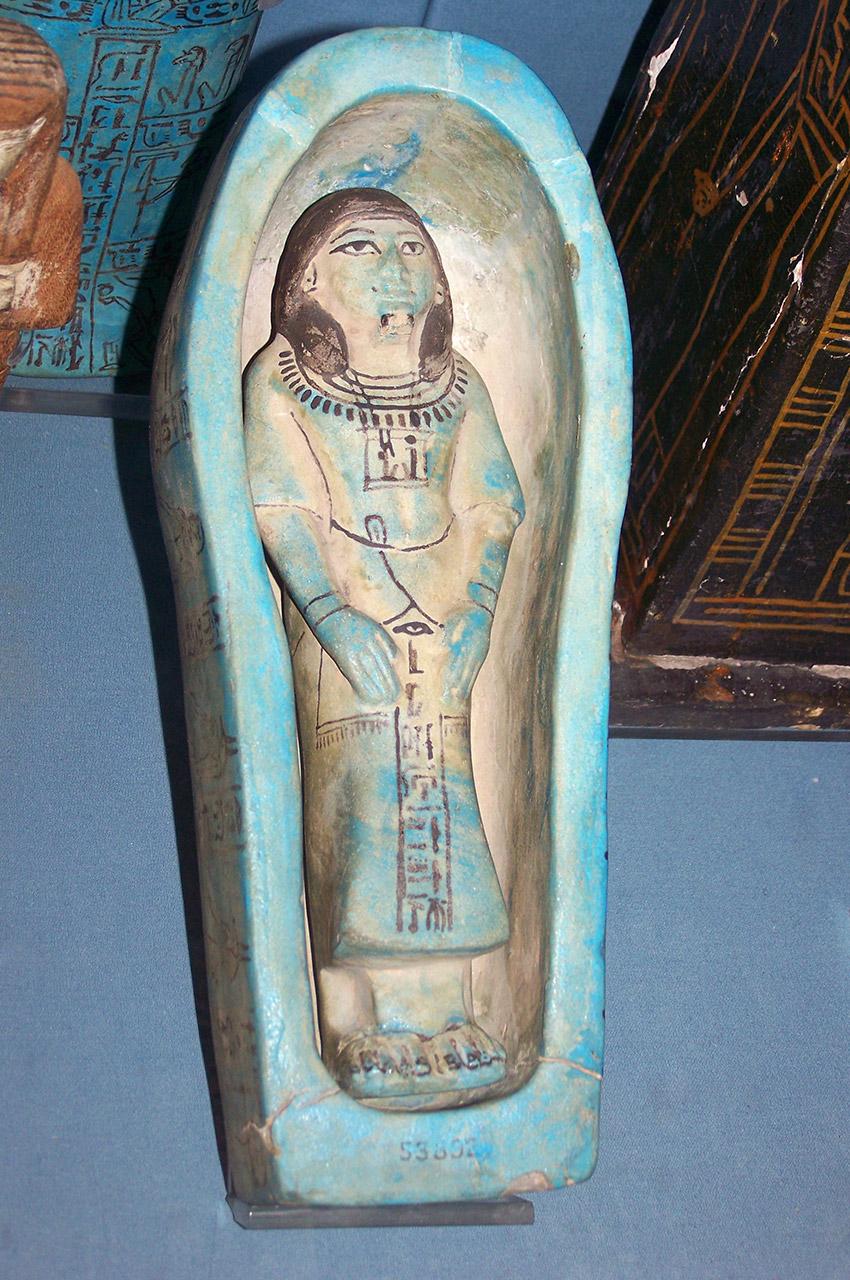 Petit sarcophage décoratif