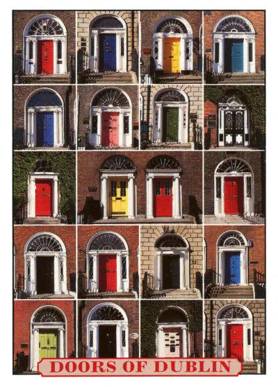 Les portes de Dublin, très tendance