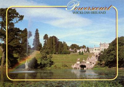 Powerscourt Estate, entre jardins et château
