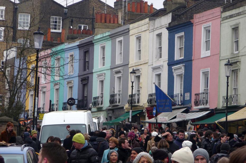 Le quartier de Notting Hill est toujours très animé