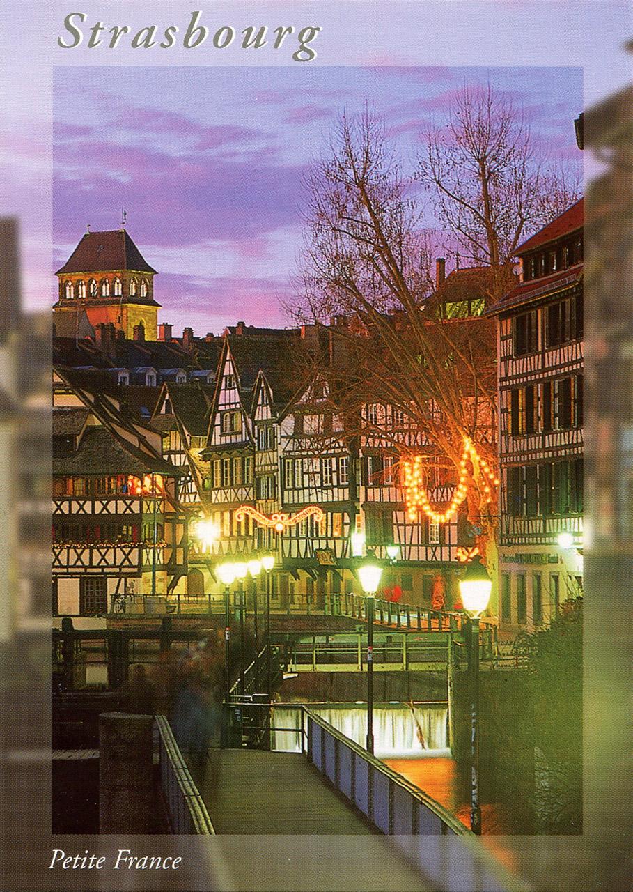 Cartes postales d'Alsace, France