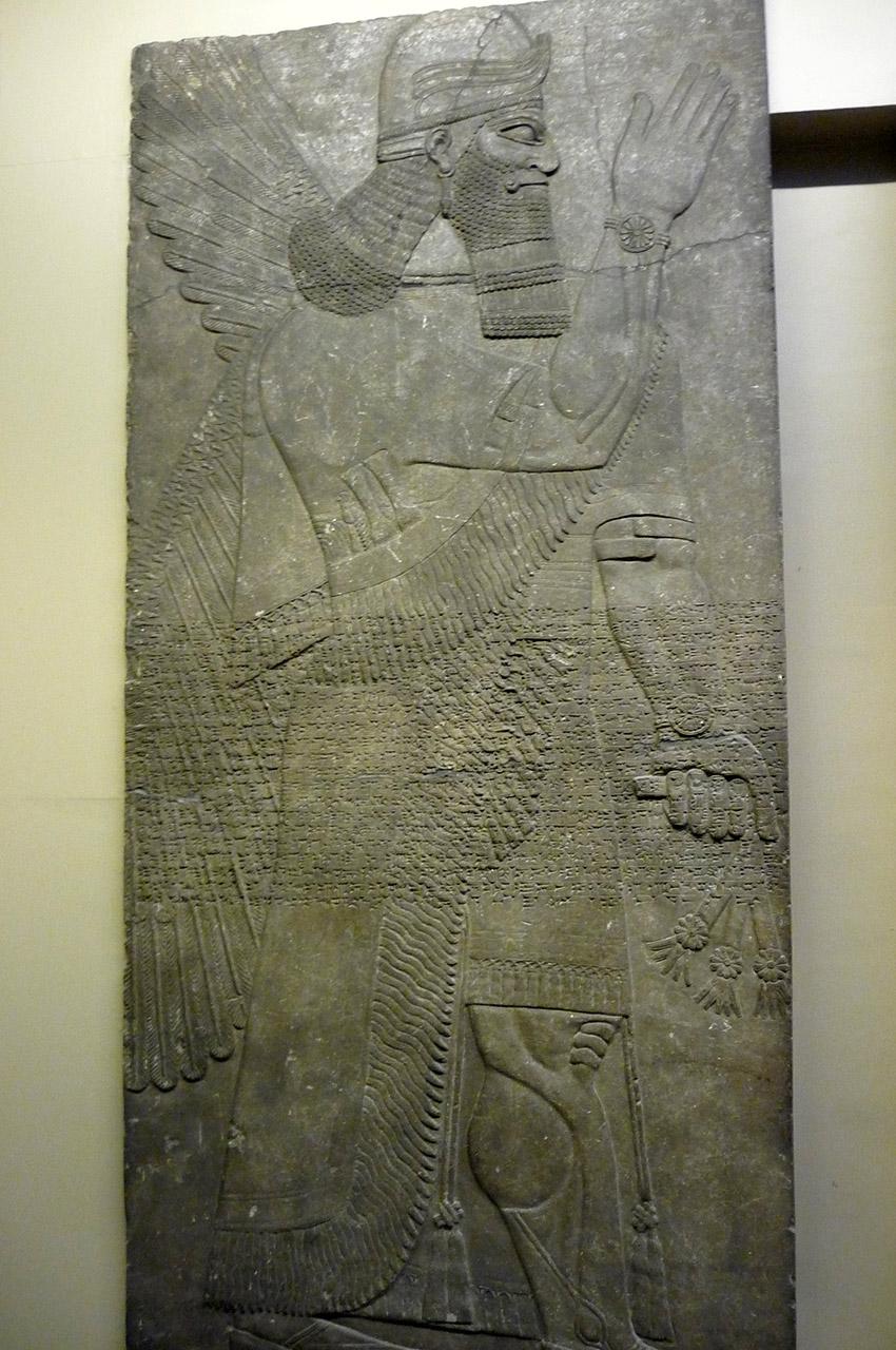 Relief assyrien provenant de Nimrud