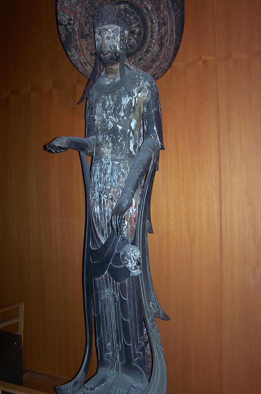 Statue en bronze d'Asie