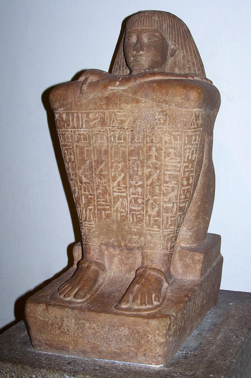 Statue de Teti, 18e dynastie