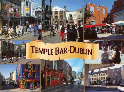 Le Temple Bar, au cœur de Dublin