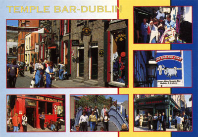 Temple Bar, quartier du centre de Dublin