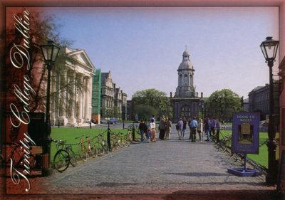 Trinity College, l'université de Dublin