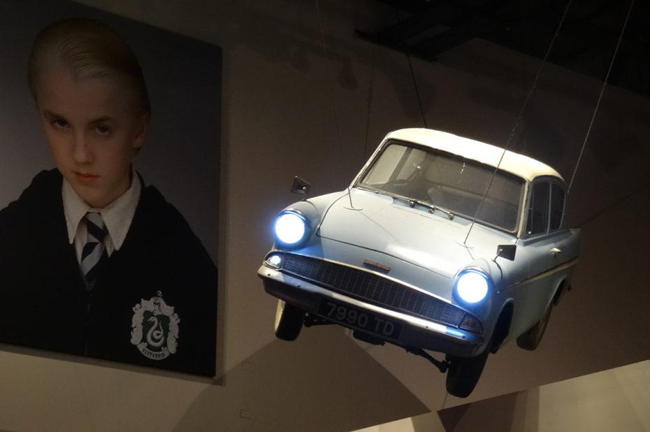 La voiture volante et le portrait de Drago Malefoy