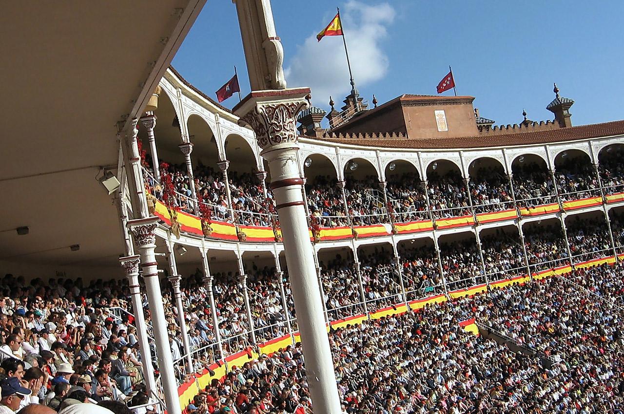 Les arènes de Las Ventas sont pleines pendant la feria
