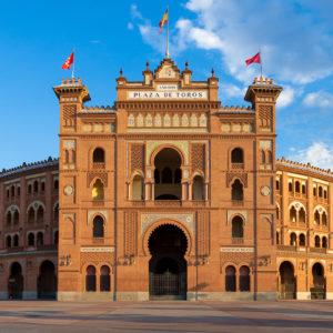 Les arènes de Las Ventas sur la Plaza de Toros