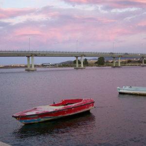 Barques sur la mer Tyrrhénienne