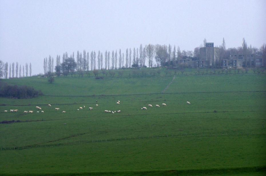Le Carmel de la Paix au sommet de la colline