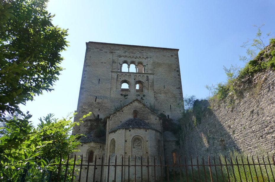 Chevet de l'église Saint-Hippolyte de Bonnay