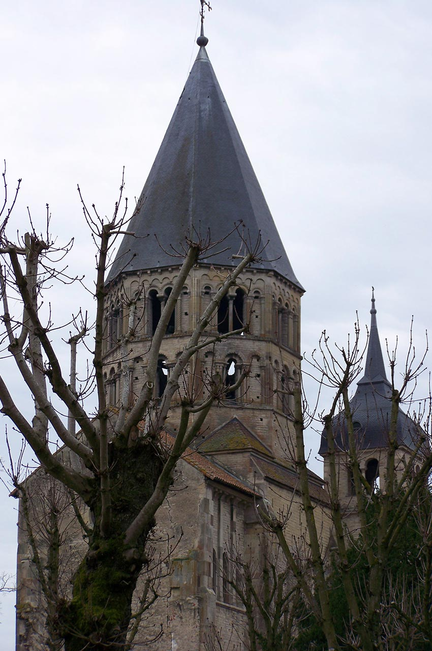 Clocher de l'abbaye de Cluny