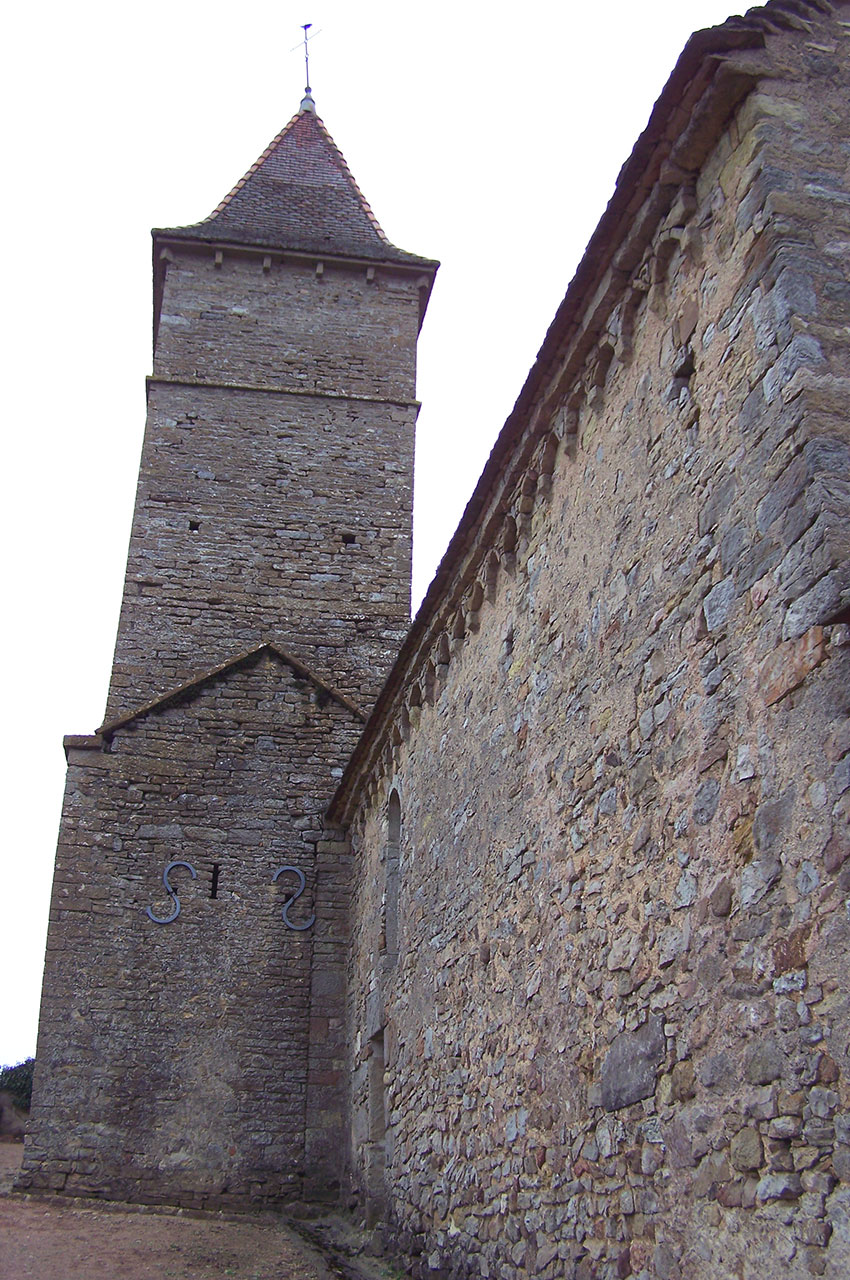 Clocher de la chapelle Saint-Jean-Baptiste