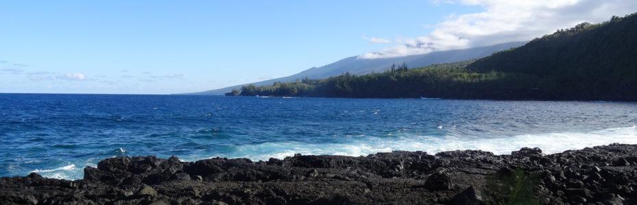 Des coulées de lave jusqu'à la mer