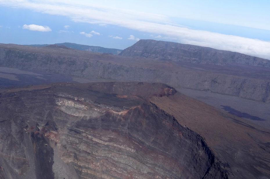 Cratères du Piton de la Fournaise