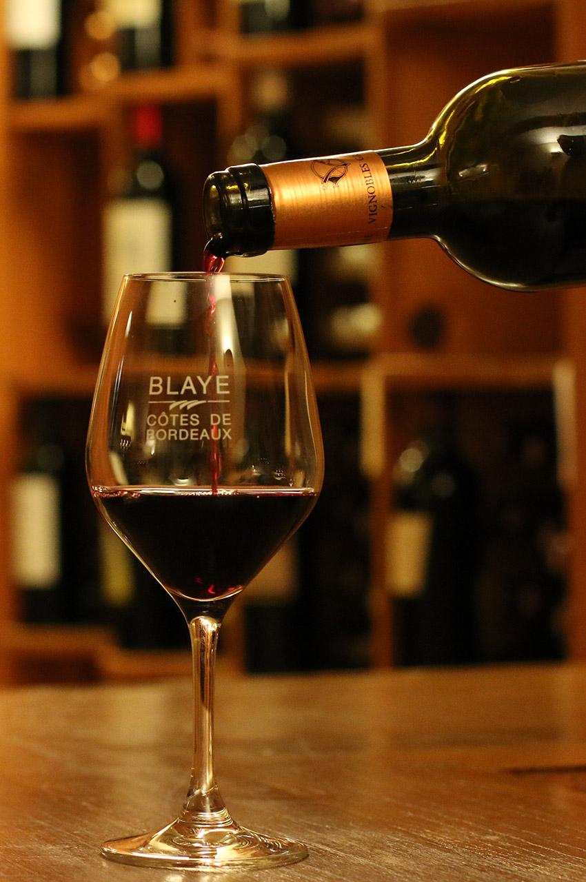 Dégustation de Blaye Côtes de Bordeaux