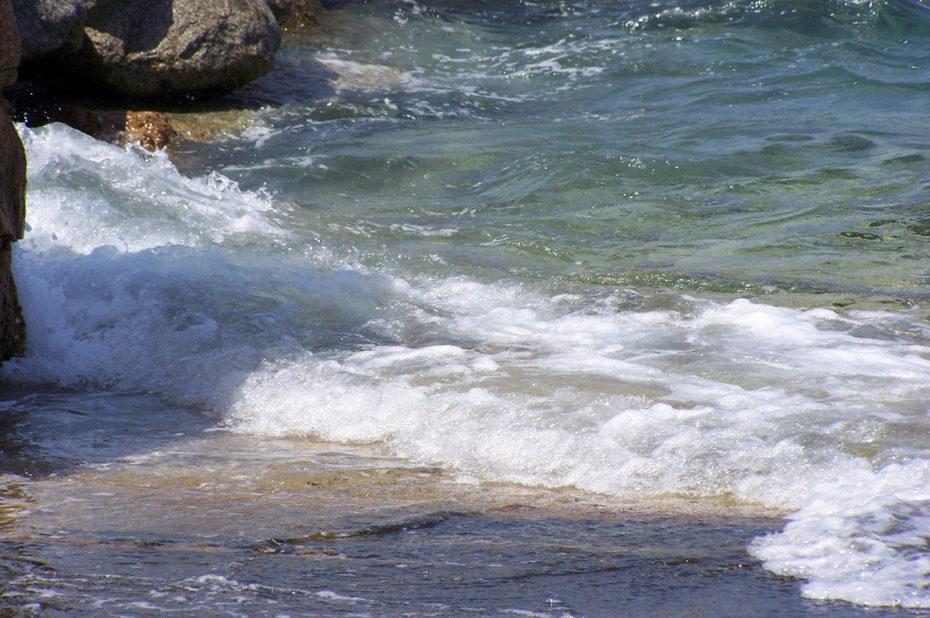 L'écume des vagues