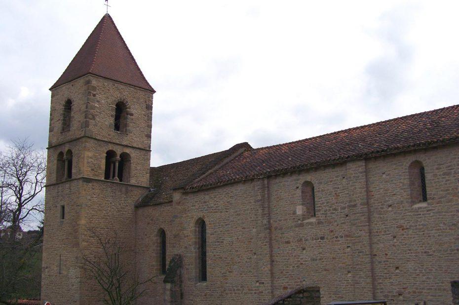 Église de Jalogny en Saône-et-Loire