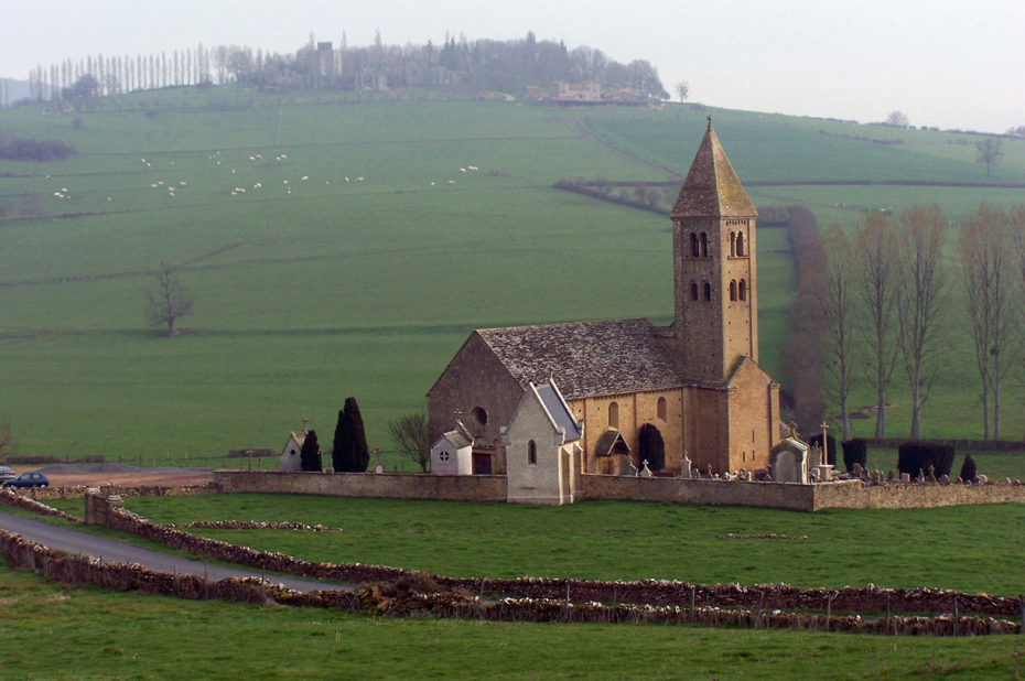 Église de Mazille en Saône et Loire