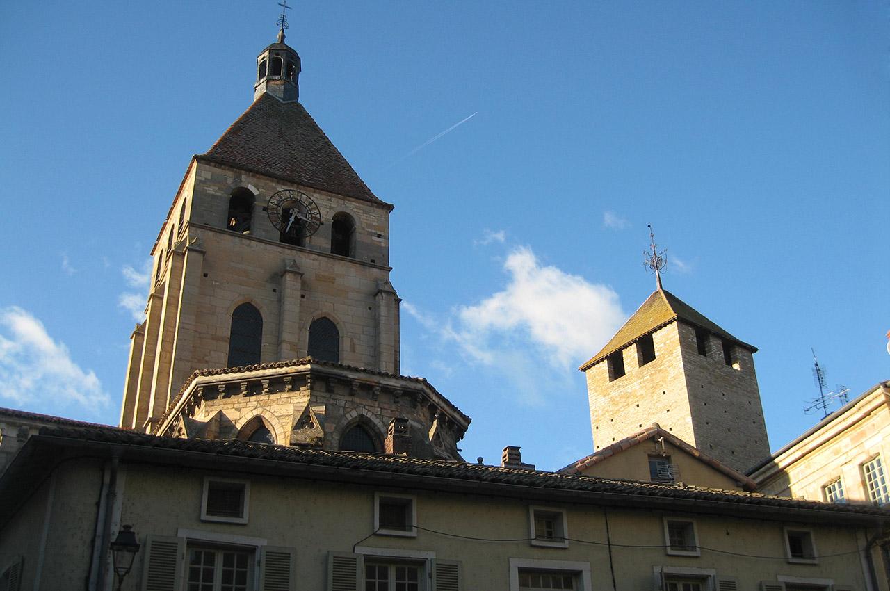L'église Notre-Dame de Cluny