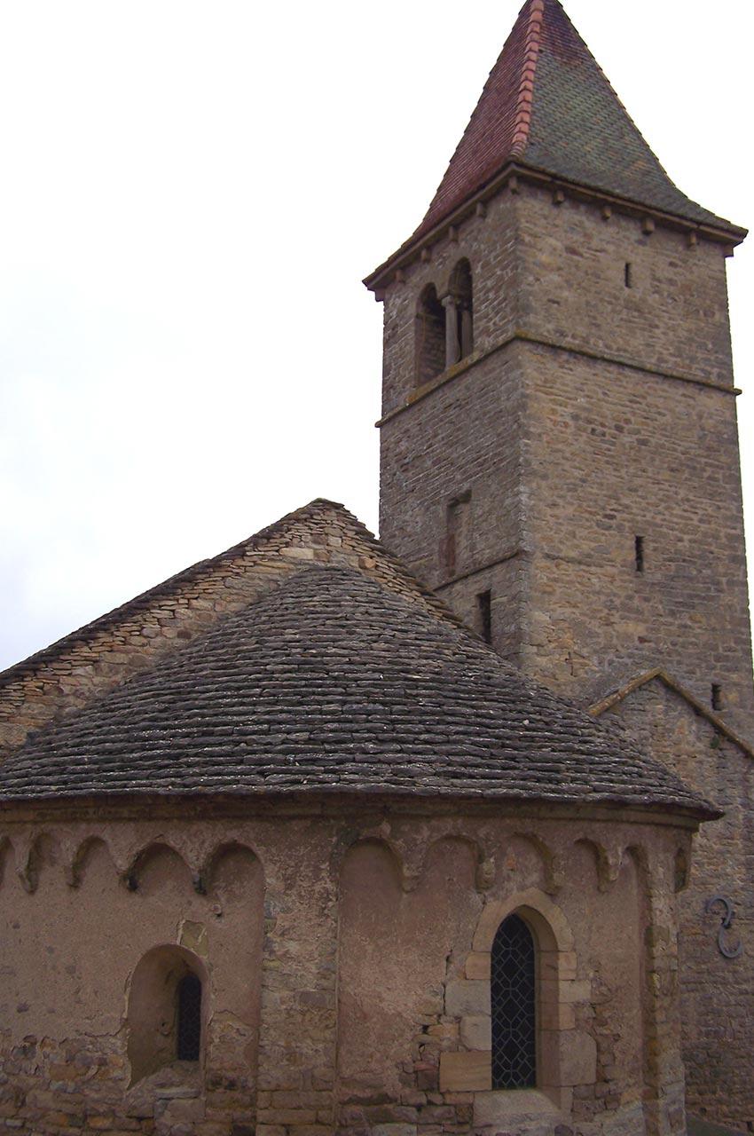 L'église romane de Mazille