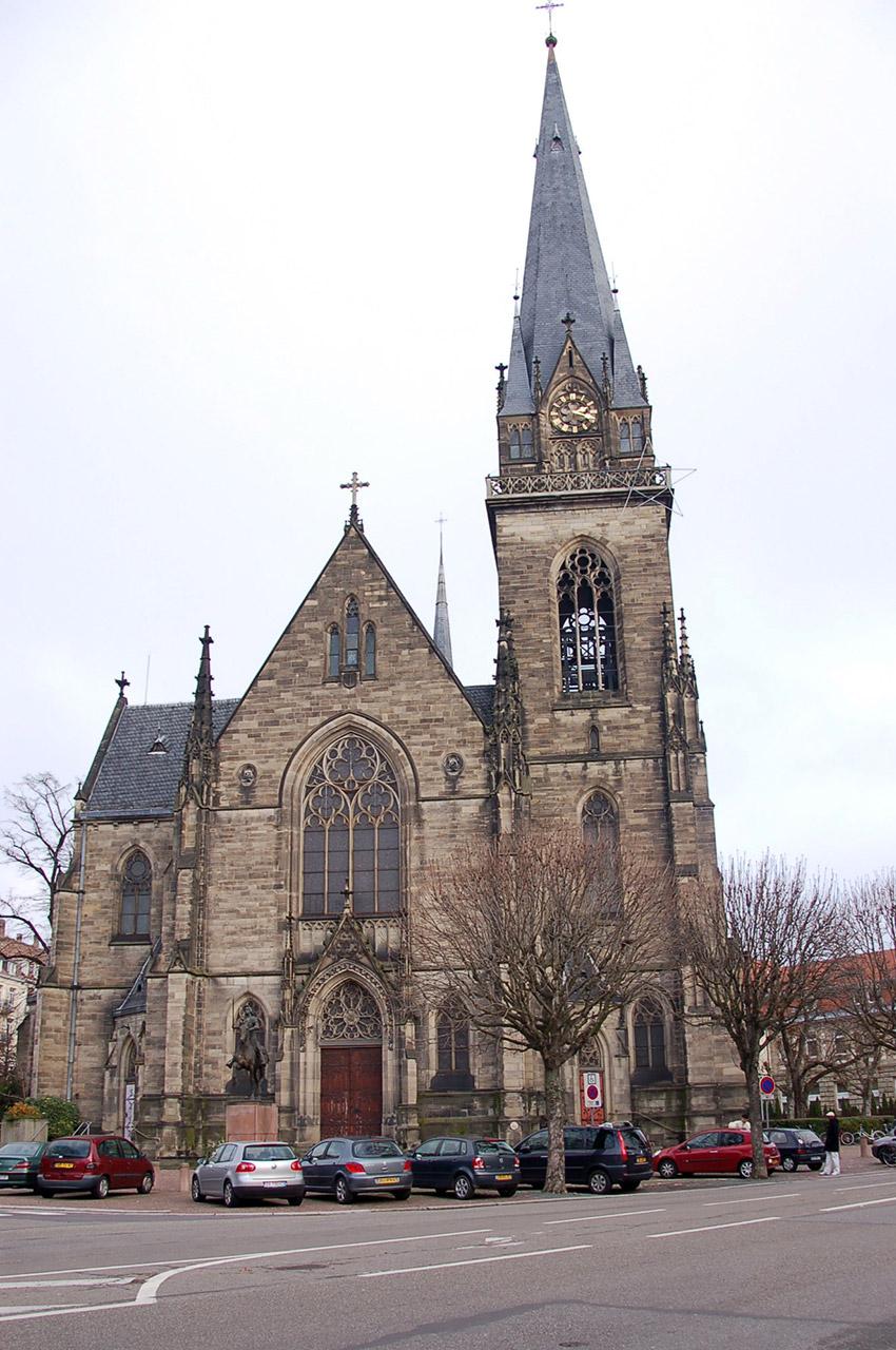 L'église Saint-Maurice, qui date du XIXe siècle