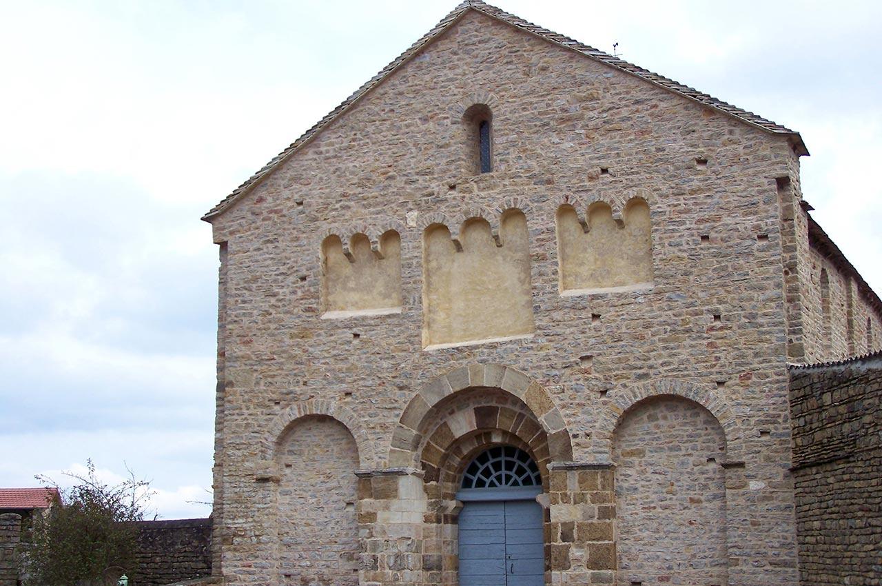Église Saint-Valentin de Jalogny