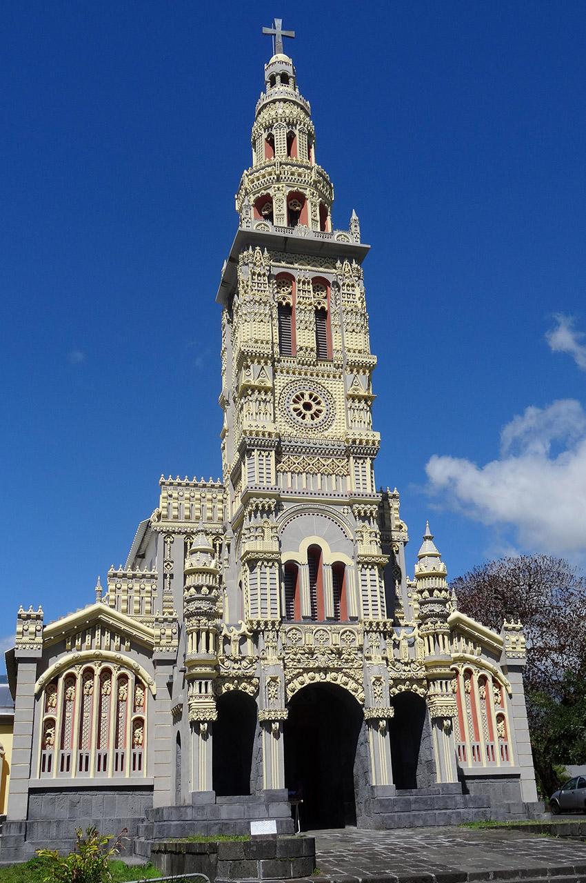 Église de Sainte-Anne, de style baroque