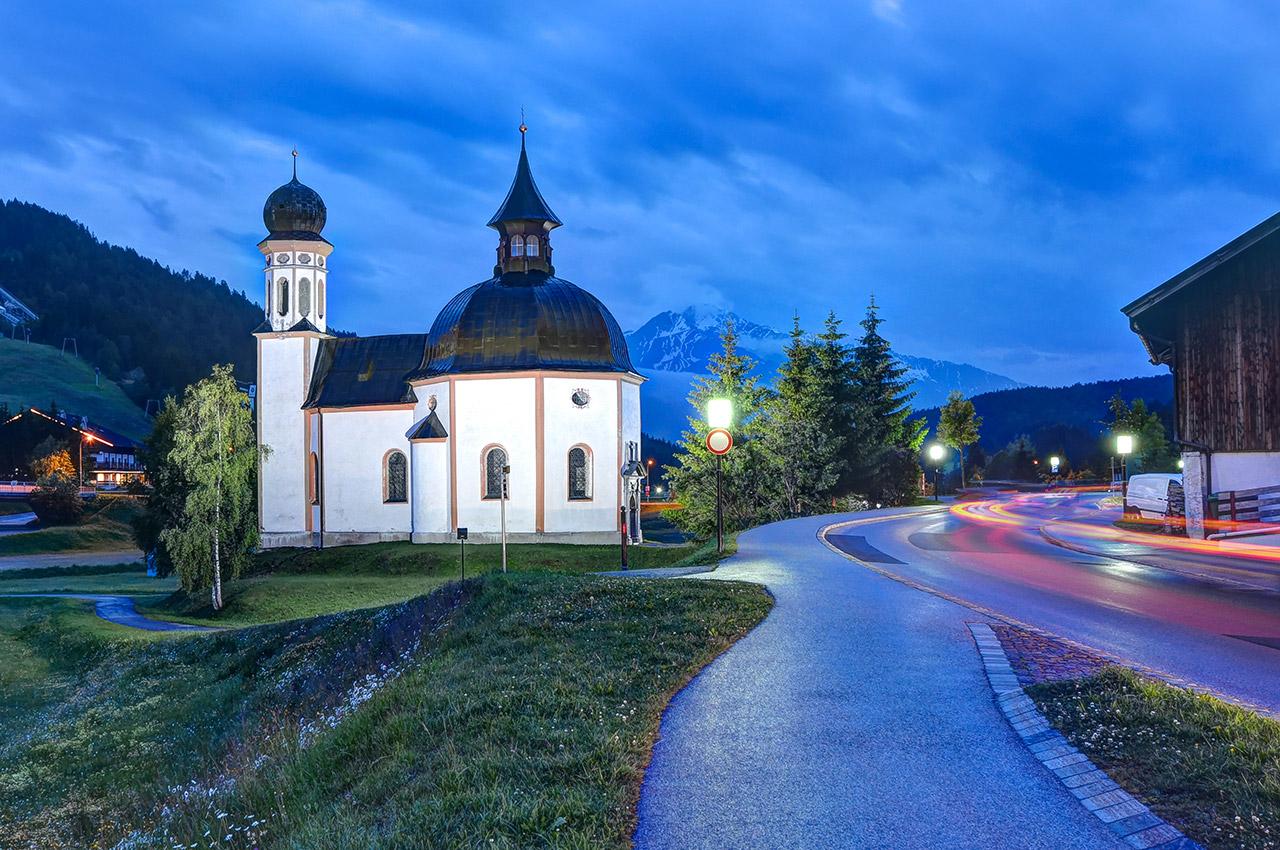Eglise Saint-Oswald à Seefeld