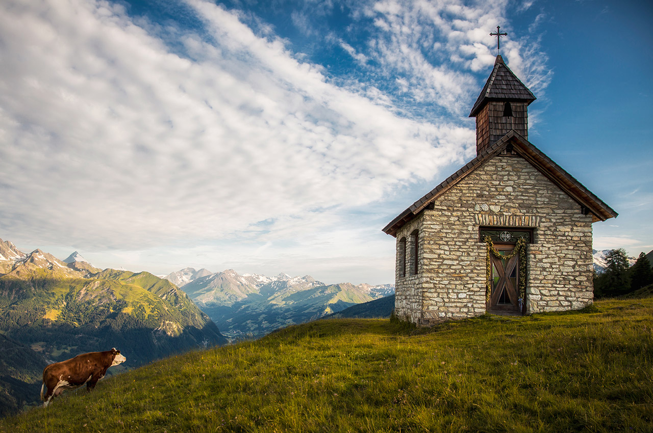 Chapelle dans le parc national des Hohe Tauern