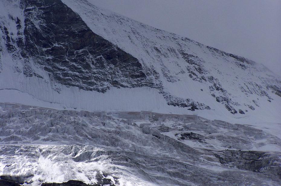 Le glacier du Cervin - Matterhorn