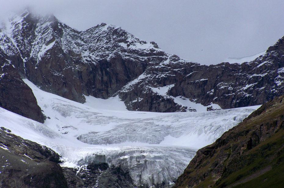 Des glaciers impressionnants mais menacés par le réchauffement climatique
