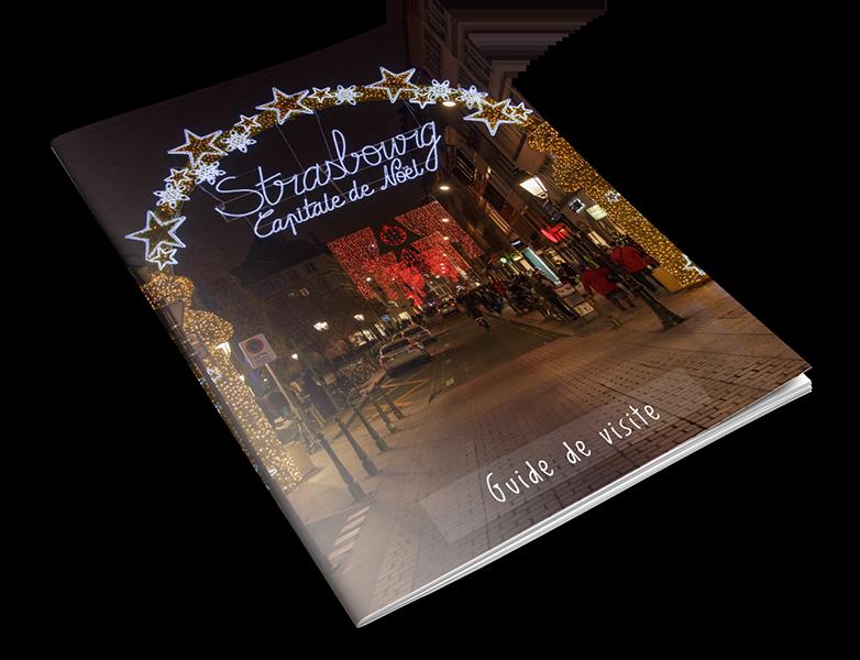 Book du guide du marché de Noël de Strasbourg