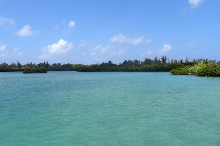 L'île aux Cerfs, à l'ouest de Maurice