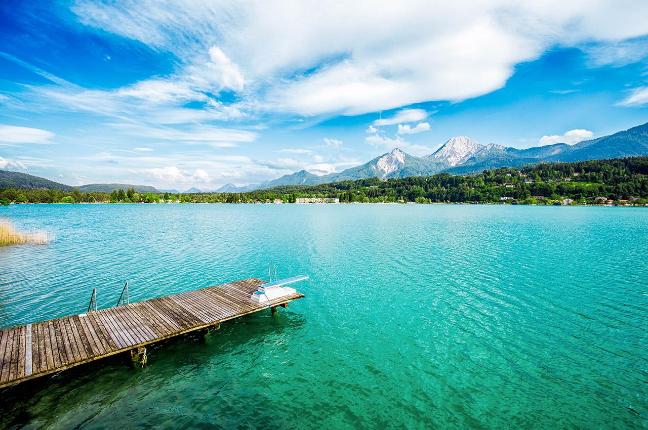 Lac de Taak en Carinthie