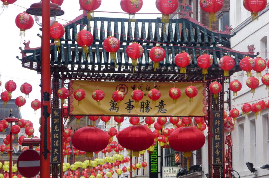 À Londres aussi, on fête le Nouvel An chinois
