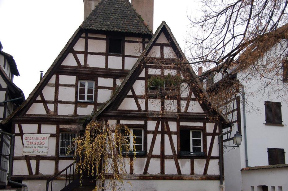 Une maison alsacienne typique