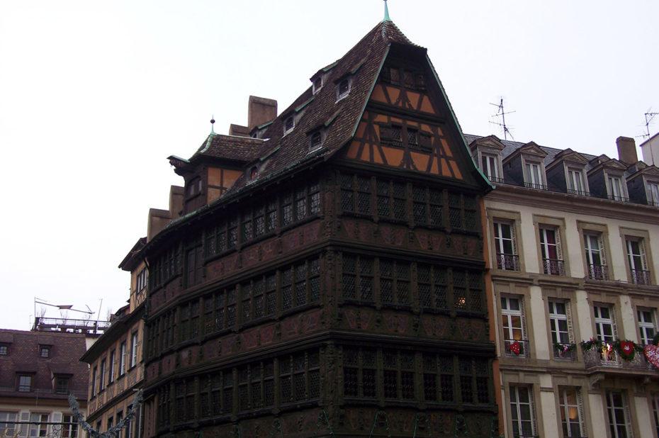 La maison Kammerzell, face à la cathédrale