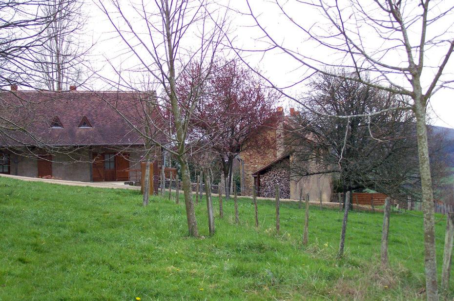 Maisons pour l'accueil des visiteurs au Carmel