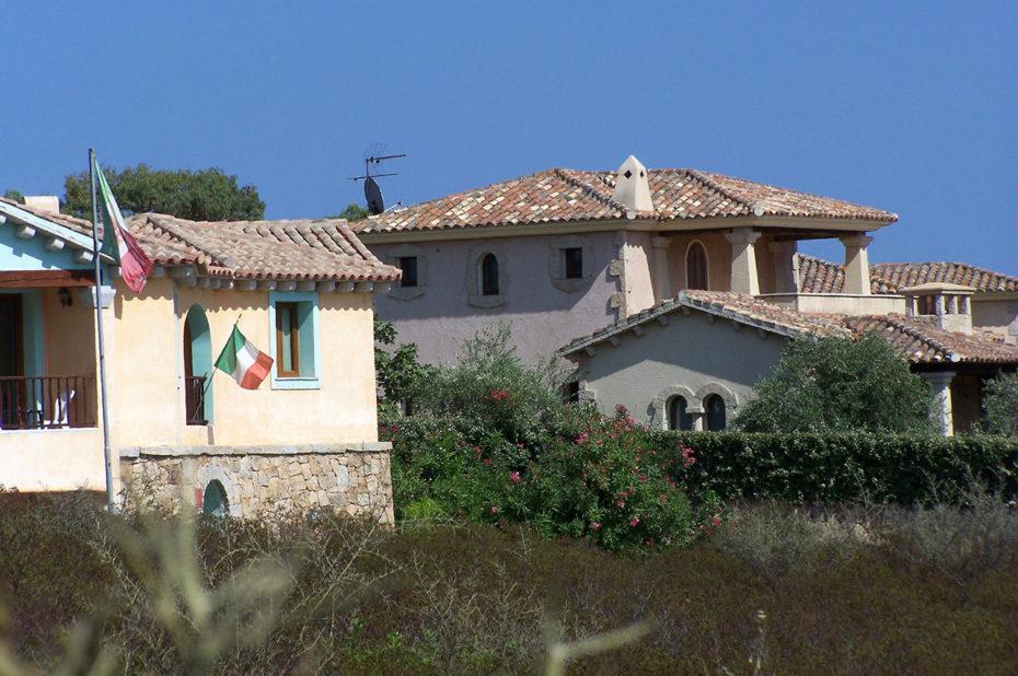 Maisons typiques de Sardaigne à Pittulongu
