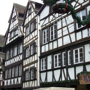 Maisons à colombage traditionnelles