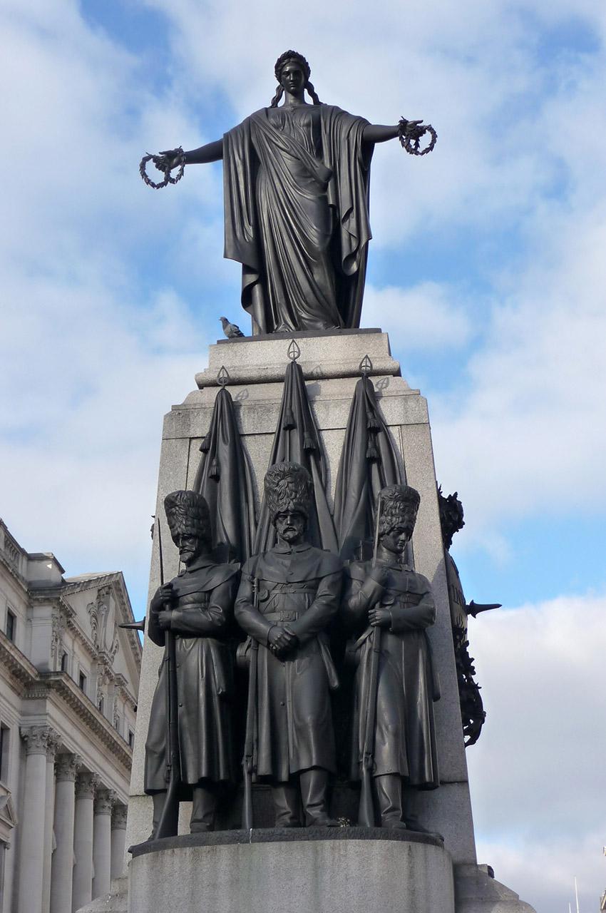 Mémorial de la guerre de Crimée, place Waterloo